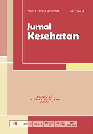 Cover Jurnal Kesehatan Vol. 5 No. 2