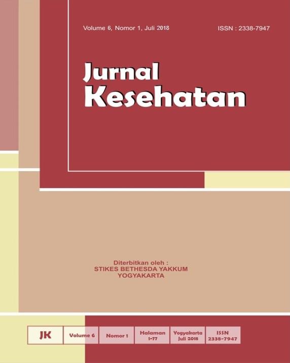 Cover Jurnal Volume 6 Nomor 1
